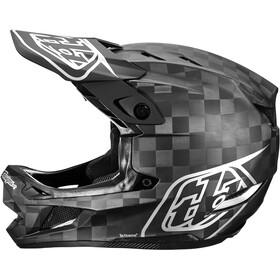 Troy Lee Designs D4 Carbon MIPS Casco, negro